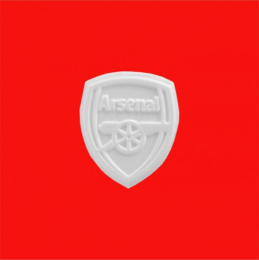 Arsenal logo shaped peppermints